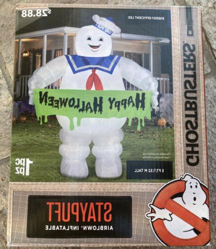 ghostbusters 5 ft stay puft marshmallow light