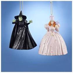 Glinda the Good and Elphaba the Bad Witches from Wizard of O