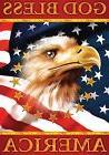 God Bless America Eagle Garden Flag Patriotic 4th of July 12