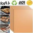 Smaid - Gold Grill Mat Set of 4 - 100% Non-stick BBQ Grill M