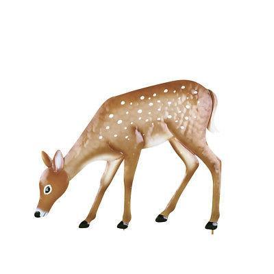 grazing deer garden decor yard stake collections
