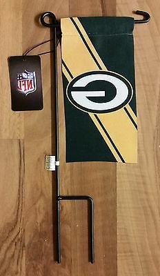 Green Bay Packers NFL Football Mini Yard Flag Stake Decorati