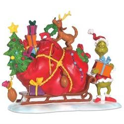Department 56 Grinch Village Series Grinch's Small Heart Gre