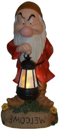 Woods International Grumpy with Lighted Lantern 4001, 15""