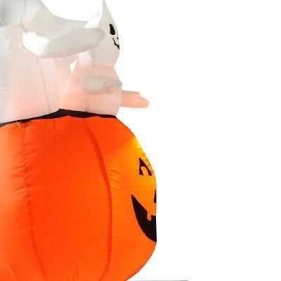Homegear Feet Inflatable Pumpkin/Ghost w/ LED