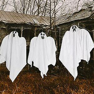 Halloween Decoration Flying Ghost for Patio Lawn Garden Decoration