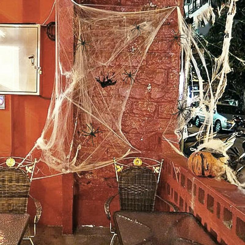 Halloween Hanging Realistic Hairy Yard Decor