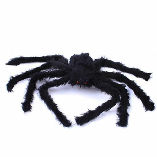 Halloween Hanging Realistic Hairy SPIDER