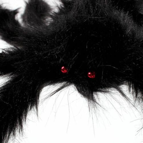 Halloween Hanging Realistic Hairy SPIDER Yard Decor US