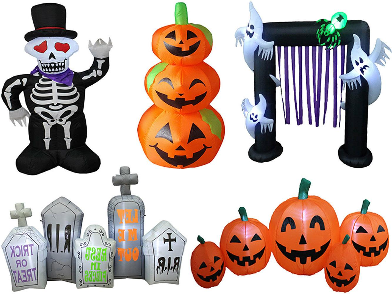 Halloween Airblown Inflatable Outdoor Yard Decoration Pumpki