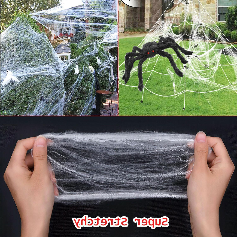 Halloween Yard 23*18 ft Giant Web Set / Large