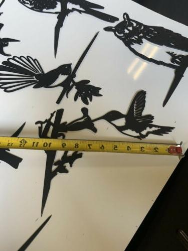 Hammer In Hummingbird Garden Yard And Metal