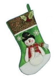 Hanna's Handiworks Handcrafted Christmas Stocking