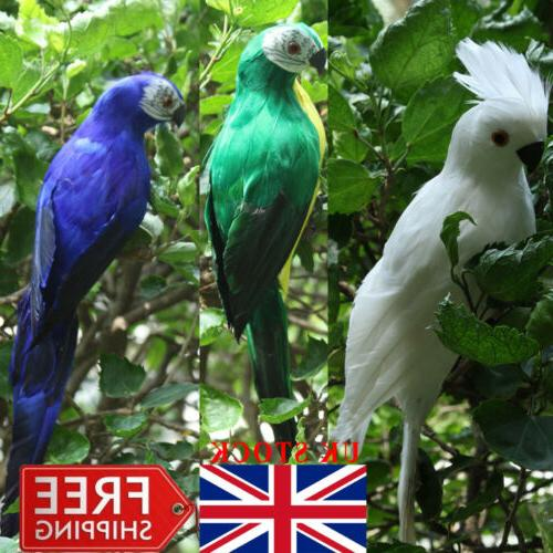Handmade Macaw Bird Yard Decor US