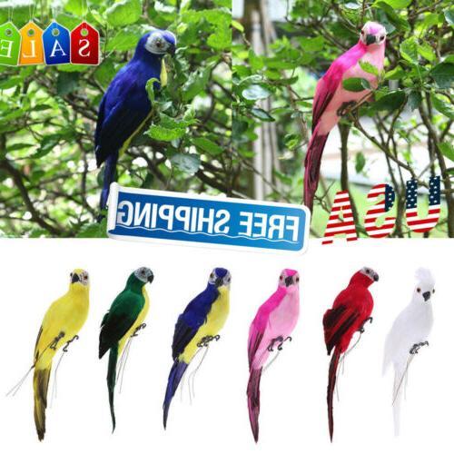 Handmade Bird Figurine Yard Decor US