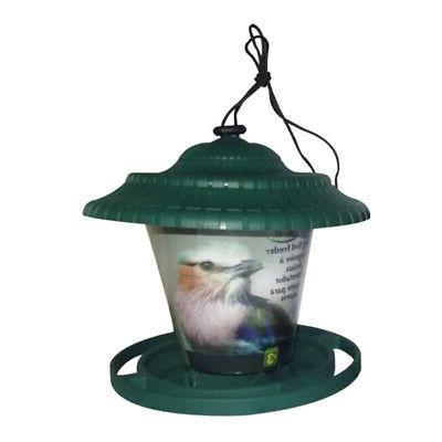 Hanging Birds Feeder Garden Dispenser Decor