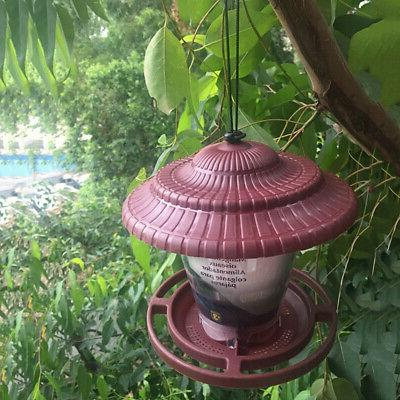 Hanging Birds Garden Seed Food Dispenser Yard Garden