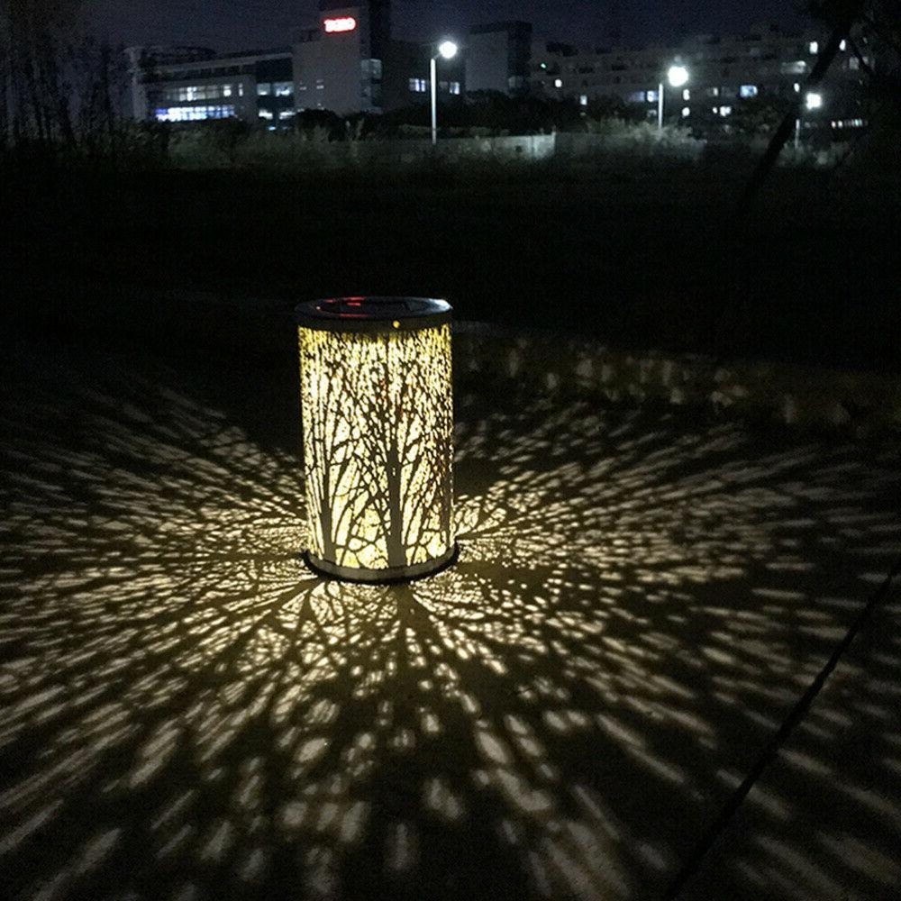 LED Solar Lantern Retro Hanging Outdoor Waterproof Forest Li