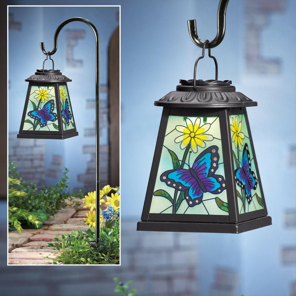 Hanging Solar Lantern Yard Decoration Outdoor Lights Lawn Bu