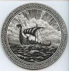 Box of 6 Hardboard Viking Odin Norse Coasters