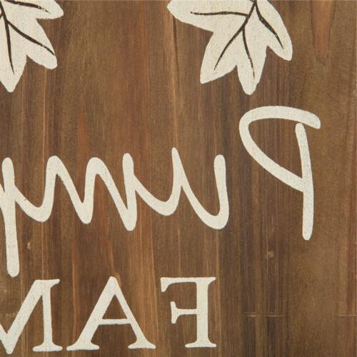 Glitzhome Solid Wooden Sign Yard Decors