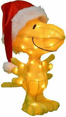 Holiday Time Light-Up Peanuts Snoopy Outdoor Christmas decor