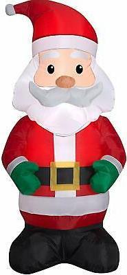 Holiday Time Yard Inflatables Santa 4 ft