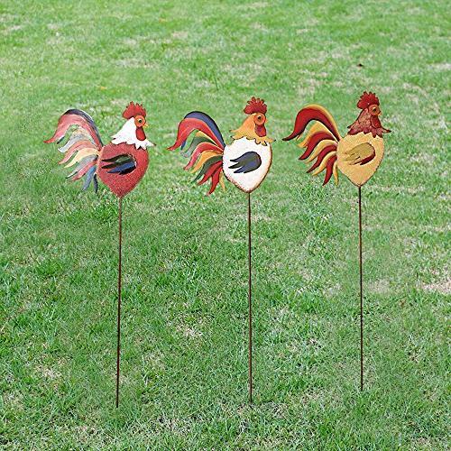 YK Home Garden Family Stake Set of