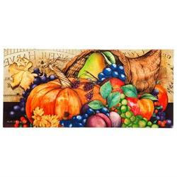 Home & Garden A Colorful Season Insert Mat Cornucopia Pumpki