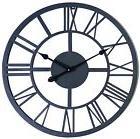 Large Outdoor Indoor Roman Numeral Wall Clock Huge Big Antiq