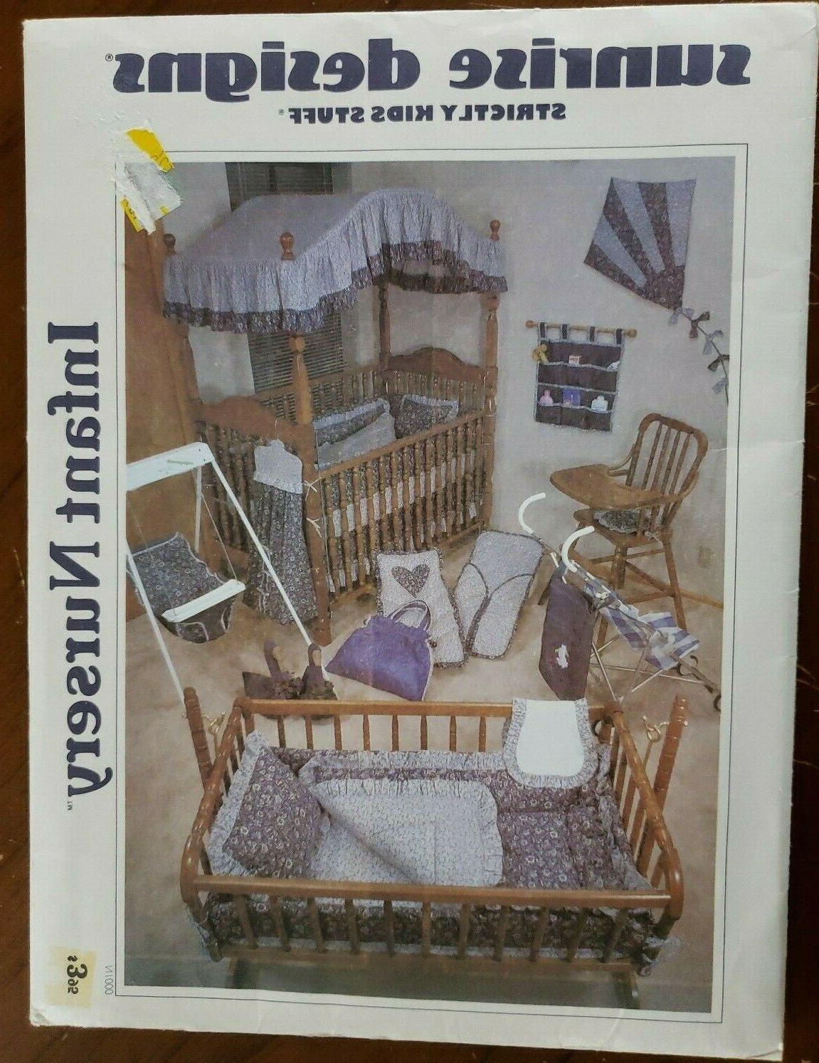 infant nursery n1000 home decor sewing pattern