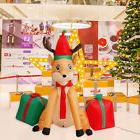 4' Inflatable Christmas Reindeer Airblown Yard Garden Home O