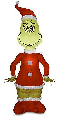 GEMMY INDUSTRIES Inflatable Santa/Grinch, 4-Ft. 110074