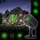IP65 Waterproof Red/Green Laser Star Projector lights Xmas P