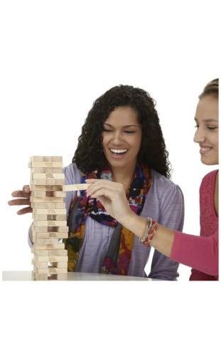 Jenga Hasbro Wooden Blocks FUN Time