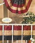 JULY 4th 40' DARK RUSTIC BANNER BUNTING USA FLAG Swag Patrio
