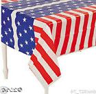 4th of July PATRIOTIC Party Decoration Plastic STARS & STRIP