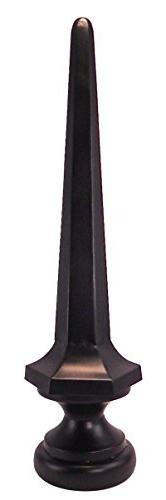 Dalvento Small Kyoto Finial- Black Matte