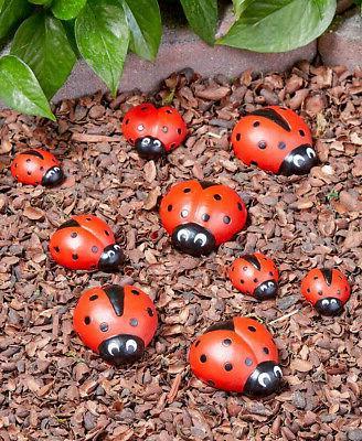 Ladybug Garden Enchanting Themed Decor Sign or Stones