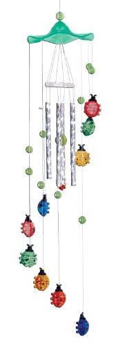 Spoontiques Ladybugs Acrylic Wind Chime