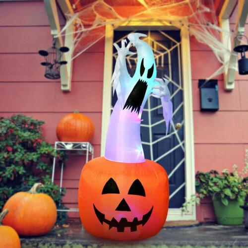 Blow up Decoration Halloween Inflatable Ghost & Light 6FT