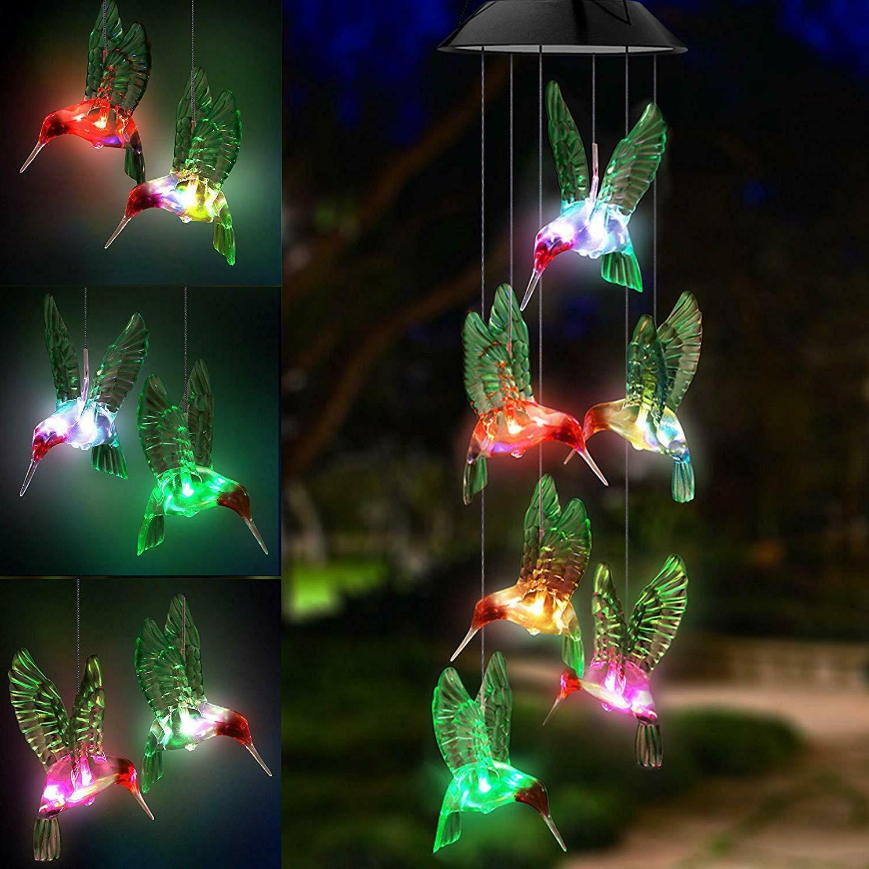 Large LED Lights Wind Gift Garden Decor