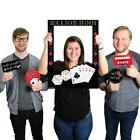 Las Vegas - Casino Themed Party Photo Booth Picture Frame &