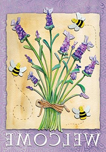 lavender welcome 28 decorative usa