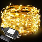 LE 20M 200 Leds Starry Copper Wire Lights Warm White String