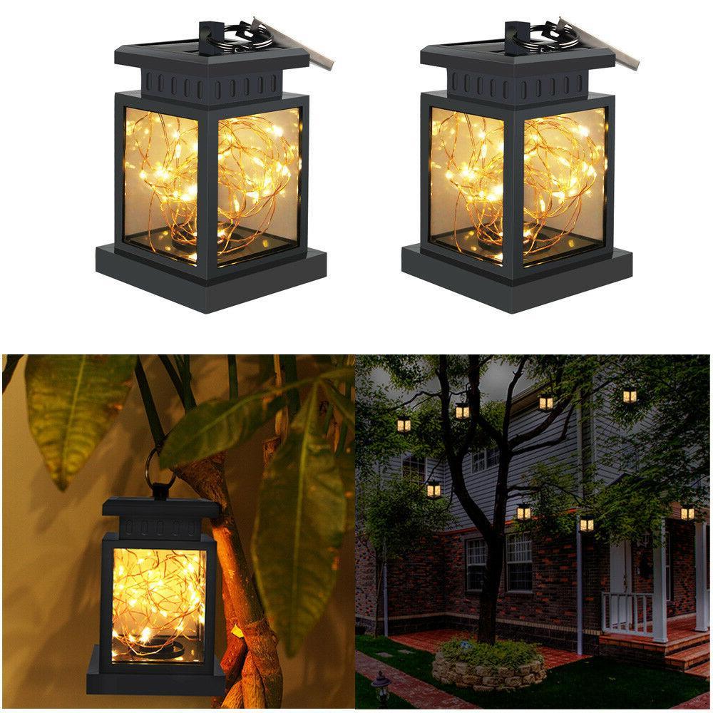 Solar LED Candle Flickering Home Lamp Landscape