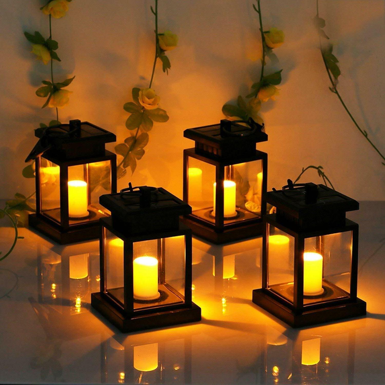Solar LED Candle Lamp Yard