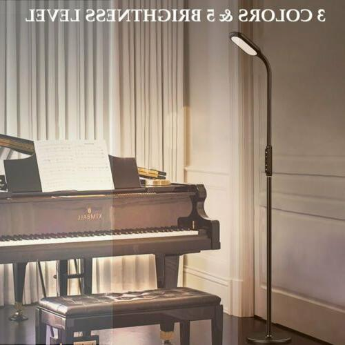 LED Floor Lamp Standing Reading Home Office Dimmable Desk Ta