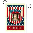 Liberty Bell Patriotic Garden Flag Fourth of July Holiday 12