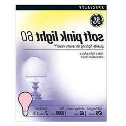 Light Bulb-Soft Pink 60 Watt